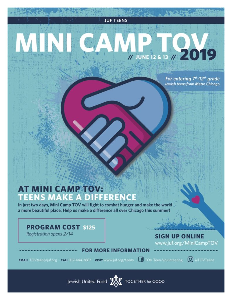 Mini Camp TOV 2019 Flyer